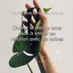 Conférence «Quand la nature nous aide à entrer en relation avec les autres»