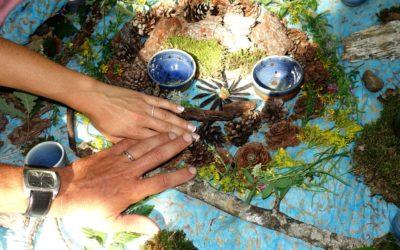 Mariage en forêt