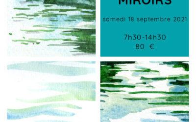 """Atelier immersif dessin et bain de forêt """"les miroirs"""""""